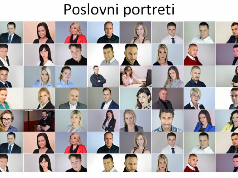 poslovni portreti